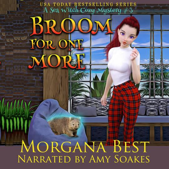 Broom For One More Sea Witch Cozy Mysteries, Book 3 by Morgana Best